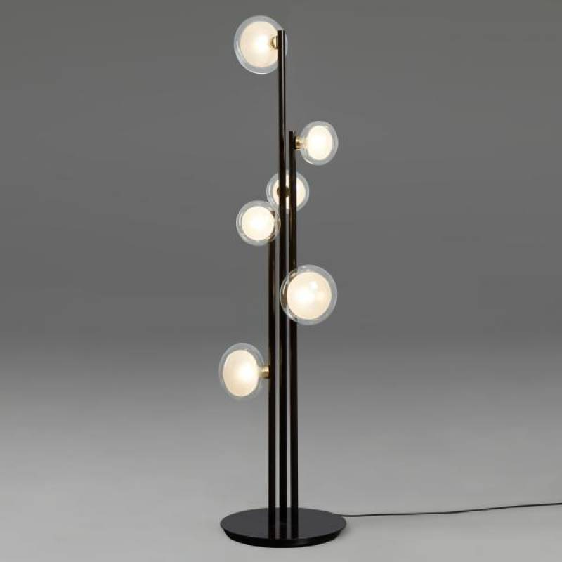 Floor lamp 552.66-smoke