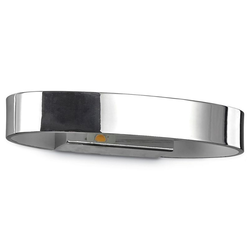 Wall lamp Ideal Lux ZED AP1 OVAL CHROME