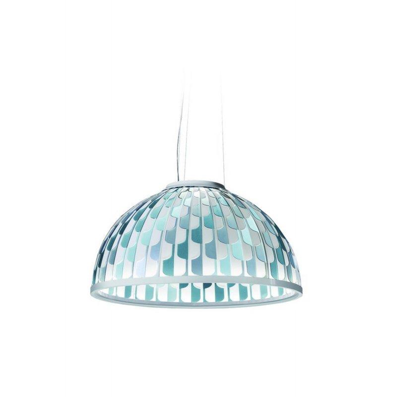 Pendant lamp DOME SUSPENSION SMALL BLUE