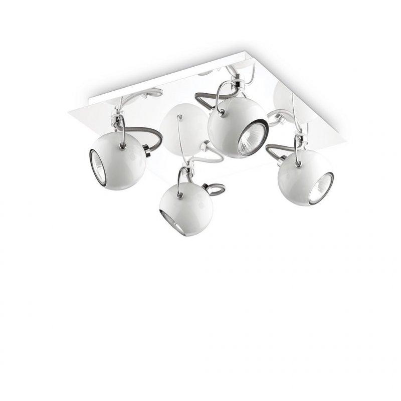 Ceiling lamp LUNARE PL4 Bianco