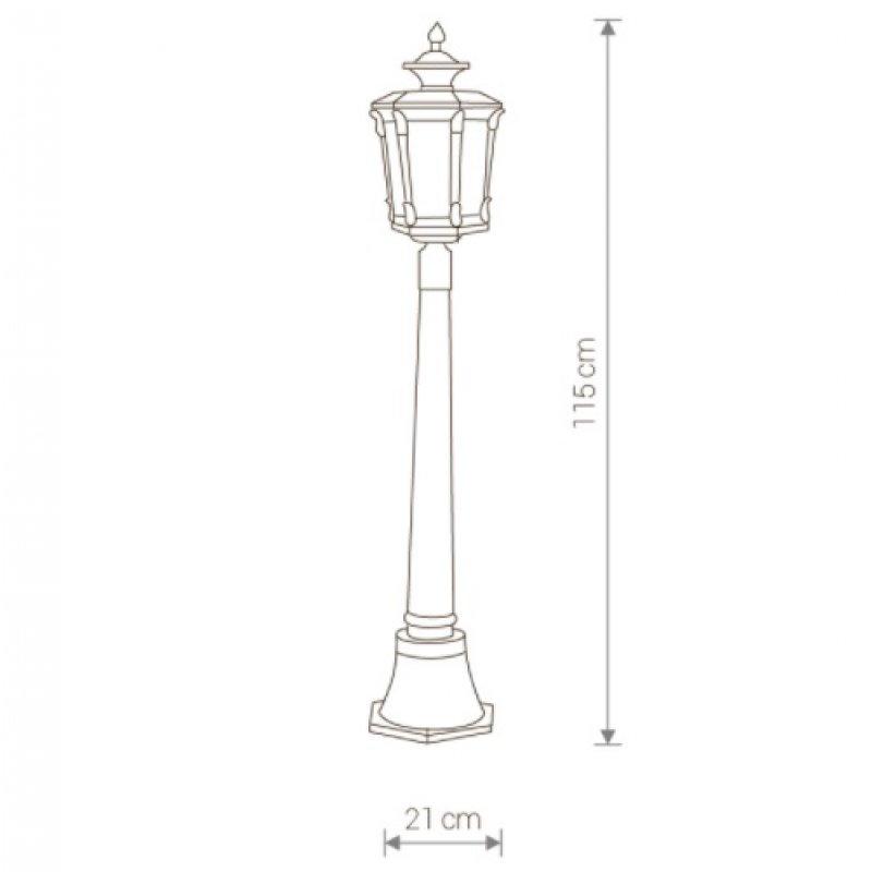 Garden lamp Amur 4694