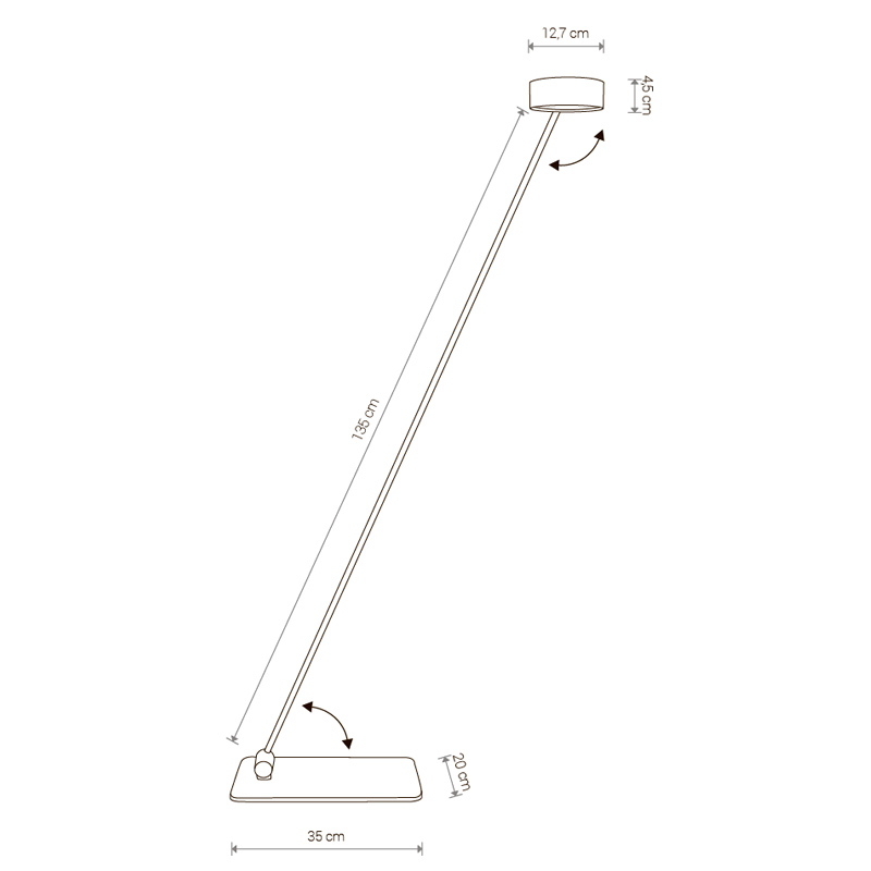 Table lamp Cyclon Led 8890