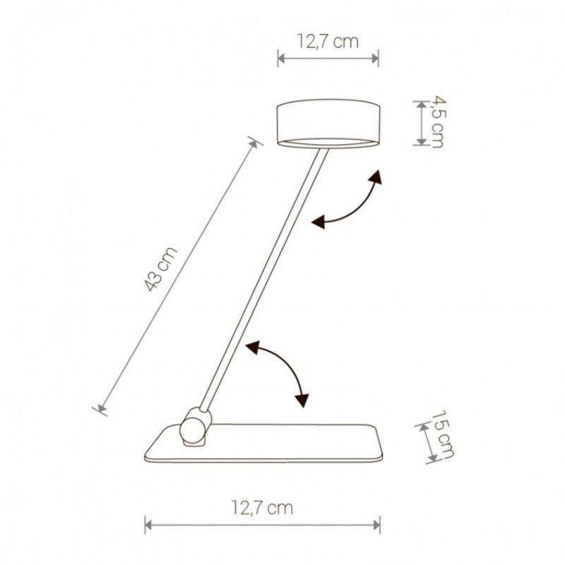 Table lamp Cyclon Led 8887