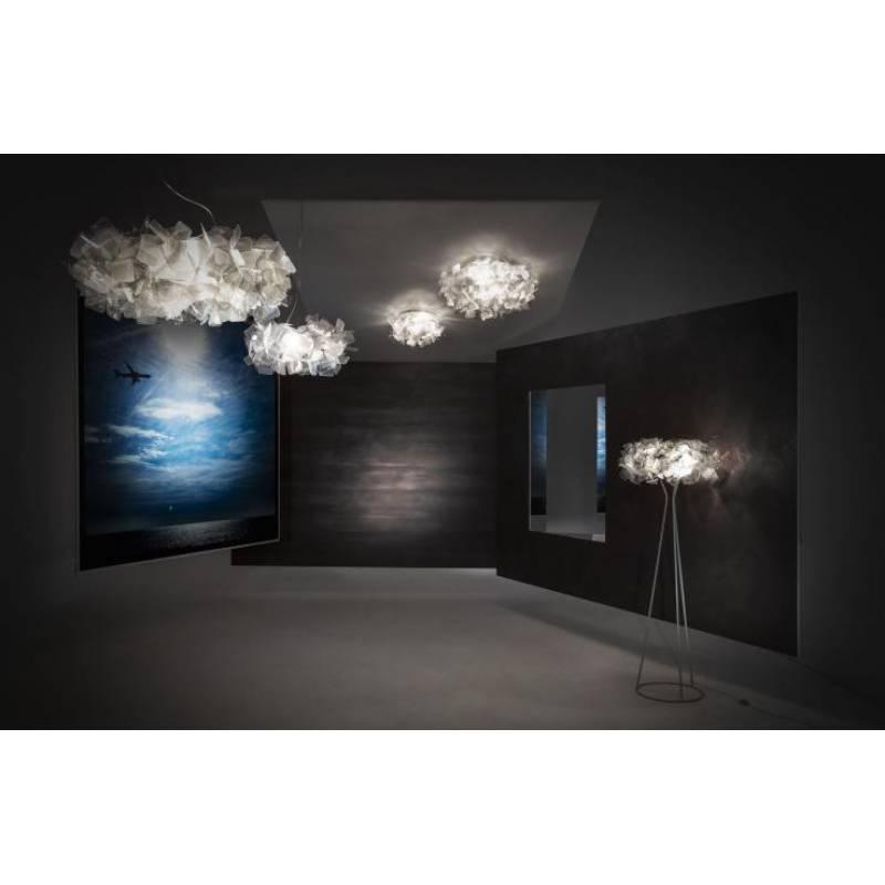 Ceiling-wall lamp CLIZIA LARGE Ø 78 cm BLACK