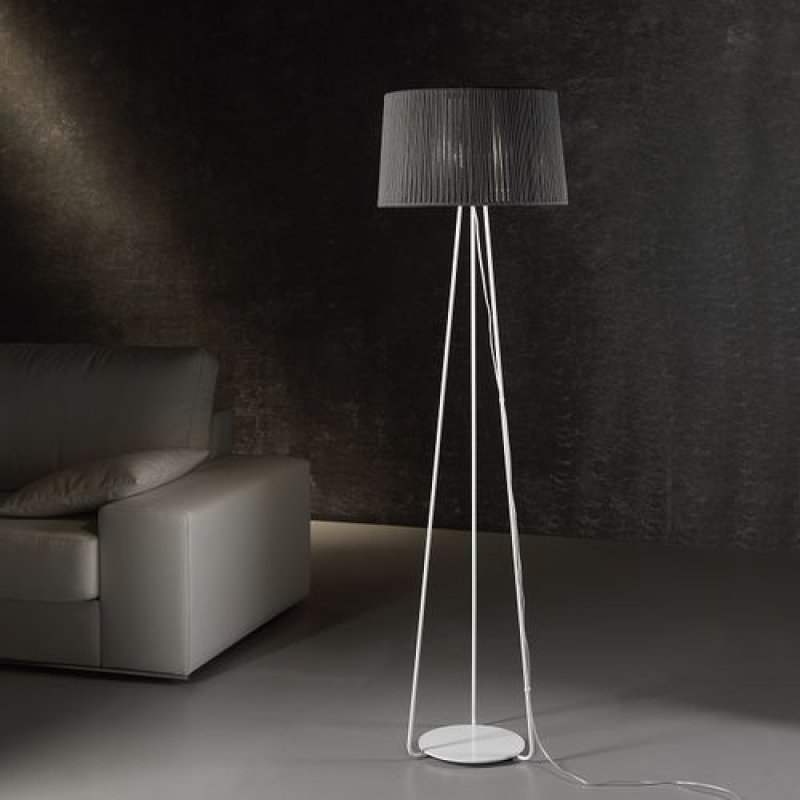 Floor lamp DRUM Ø 50 cm