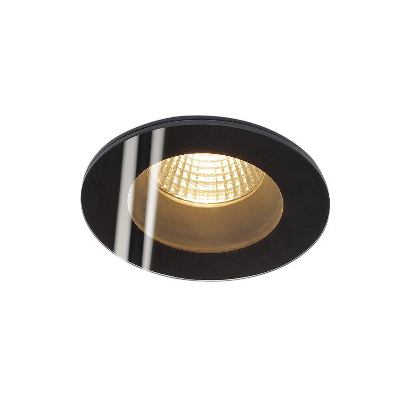 Recessed lamp PATTA-F BLACK LED