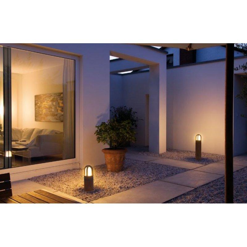 Garden lamp RUSTY CONE