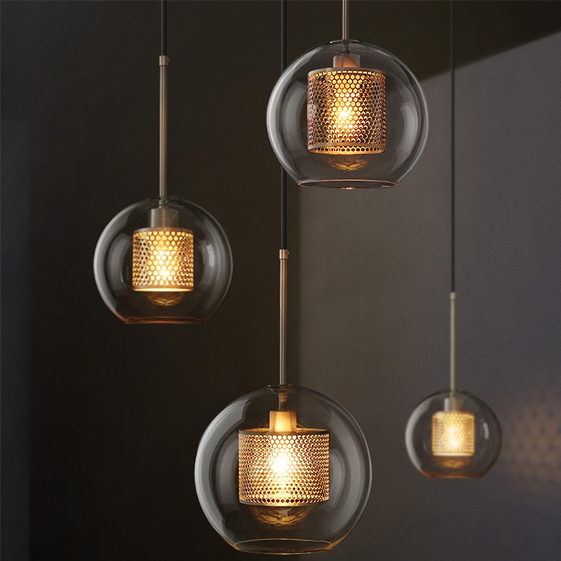Pendant lamp Iron