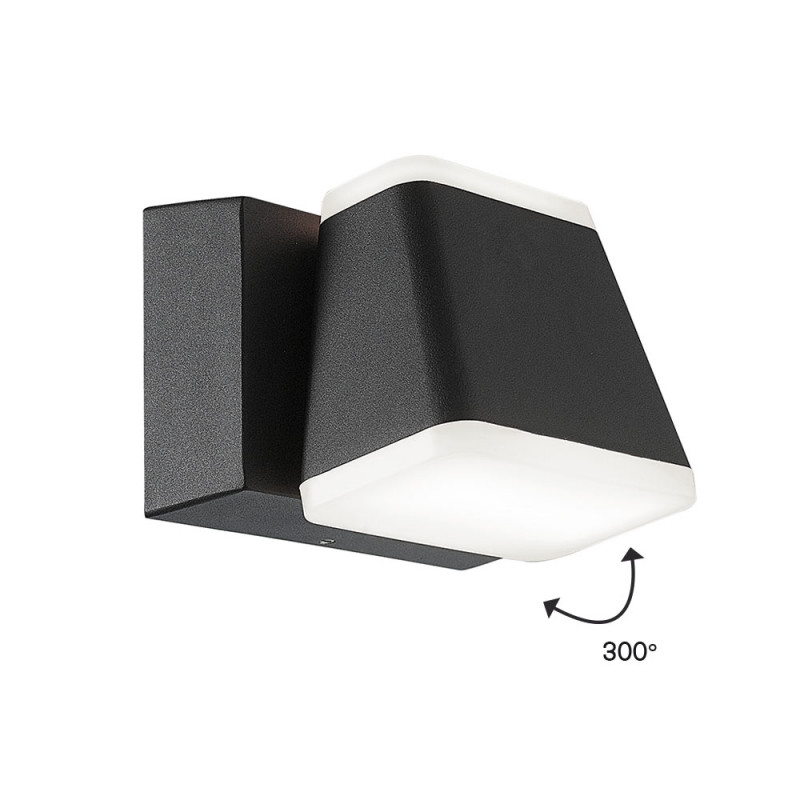 Wall lamp Viokef Dark Gray Minas