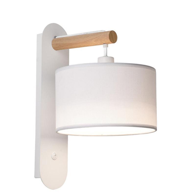 Wall lamp Viokef White Romeo