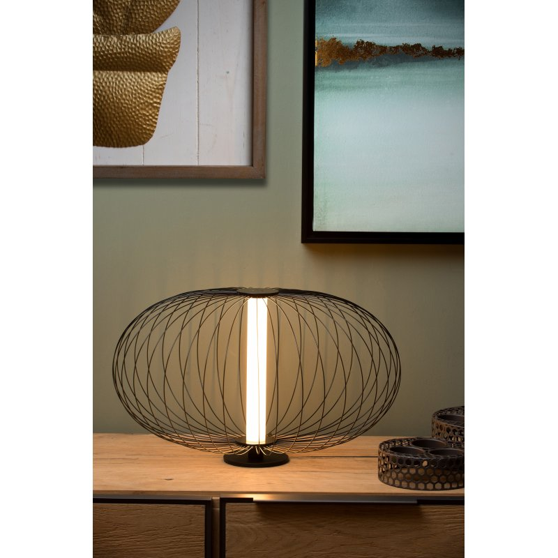 Table lamp CARBONY