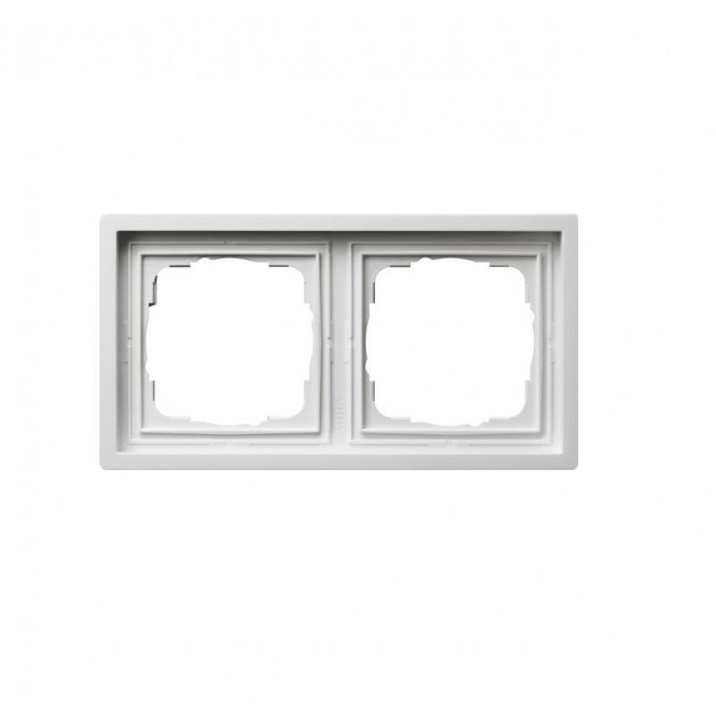 Frame white, glossy F100