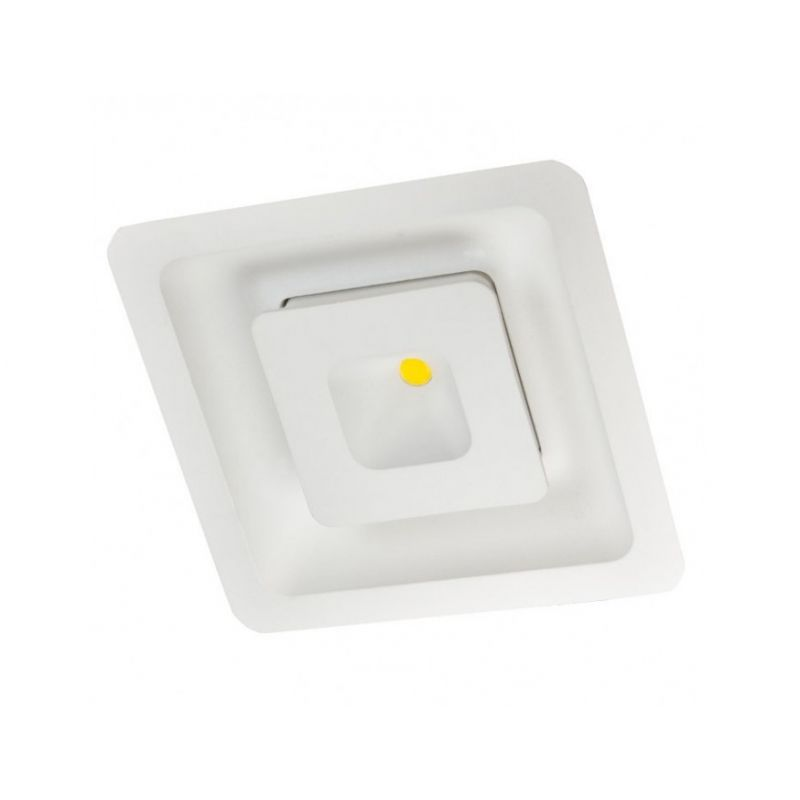 Downlight lamp CORNER 12 x 12 cm