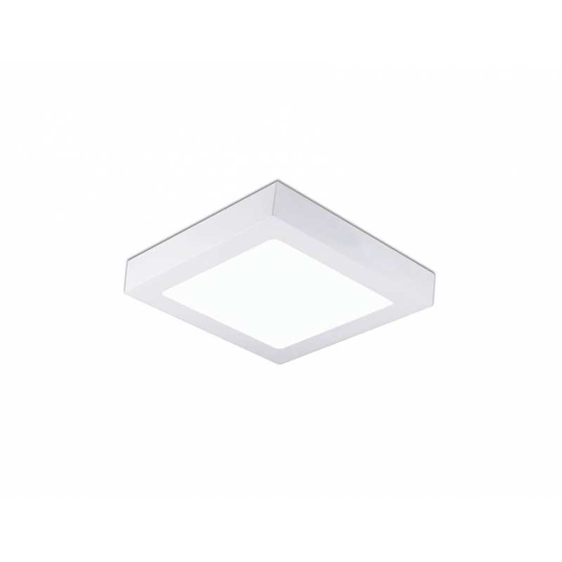 Downlight lamp DISC SQUARE SURFACE 22,5 x 22,5 cm