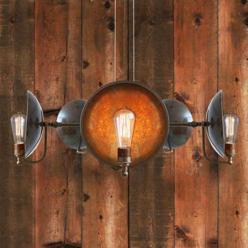 Pendant lamp CULLEN B FIVE-ARM