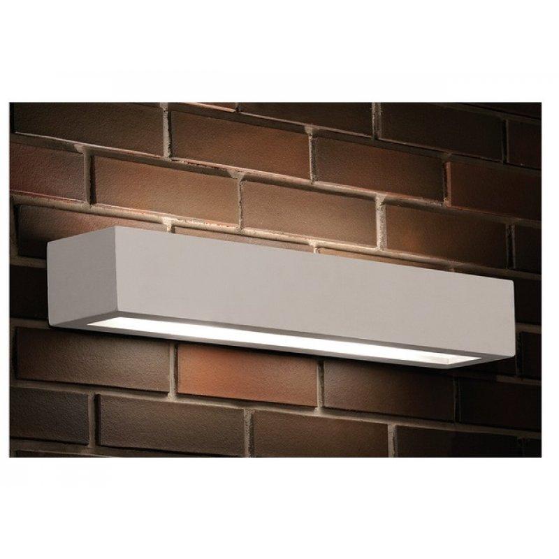 Wall lamp GIPSY PROSTOKAT L