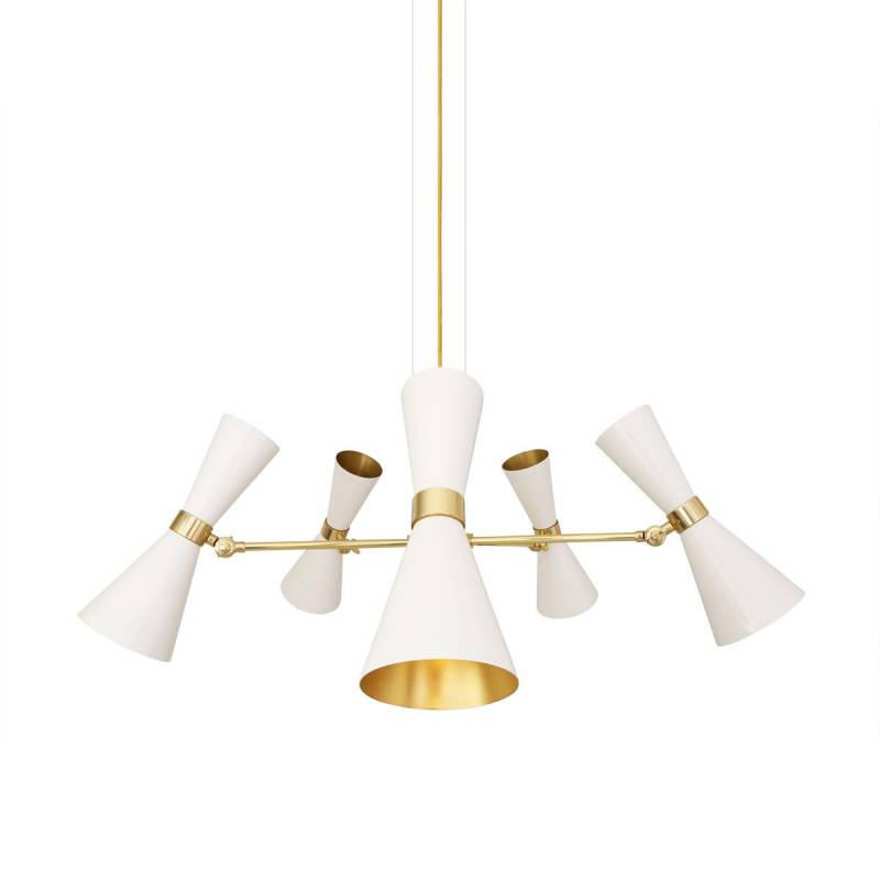 Pendant lamp CAIRO FIVE-ARM