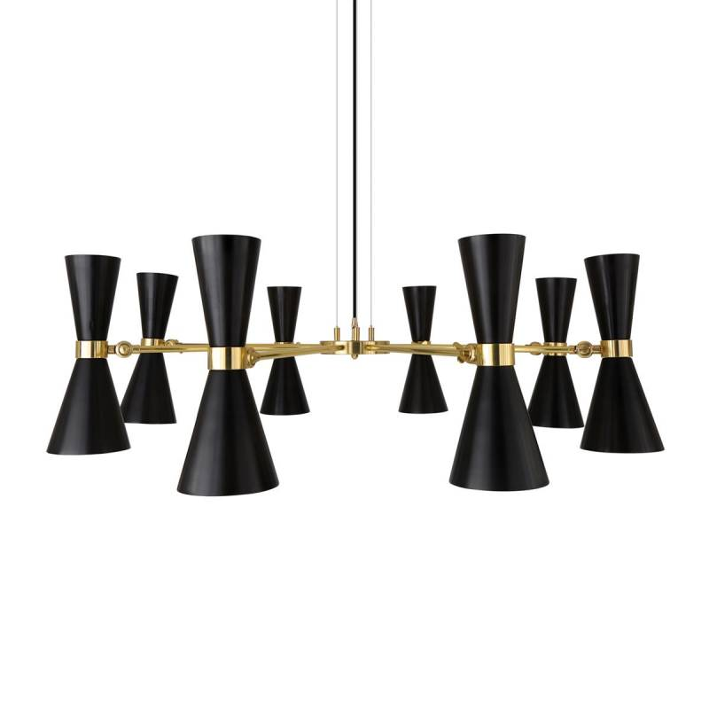 Pendant lamp CAIRO EIGHT-ARM
