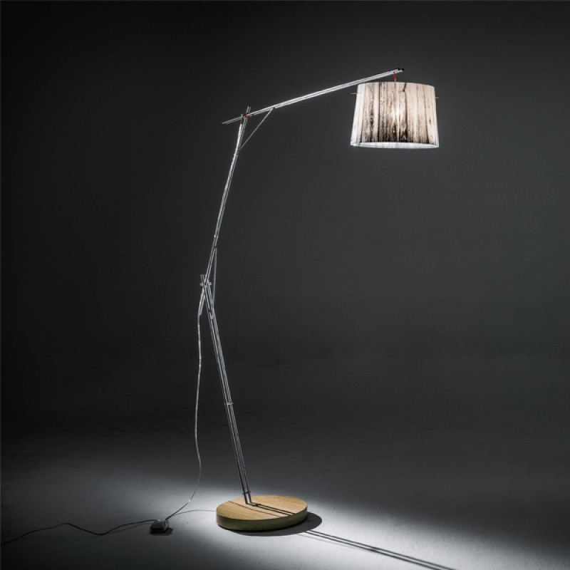 Floor lamp WOODY FLOOR LAMP WHITE