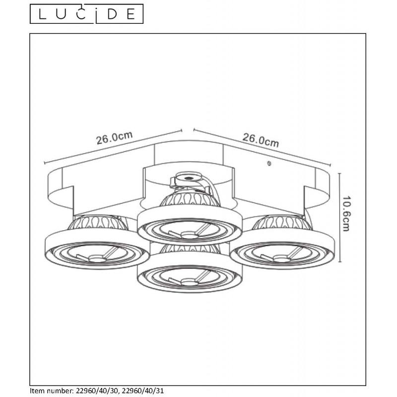 Ceiling lamp VERSUM AR111