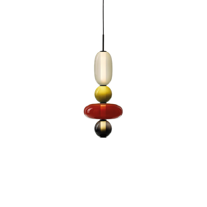 Pendant lamp PEBBLES MALL var. 9