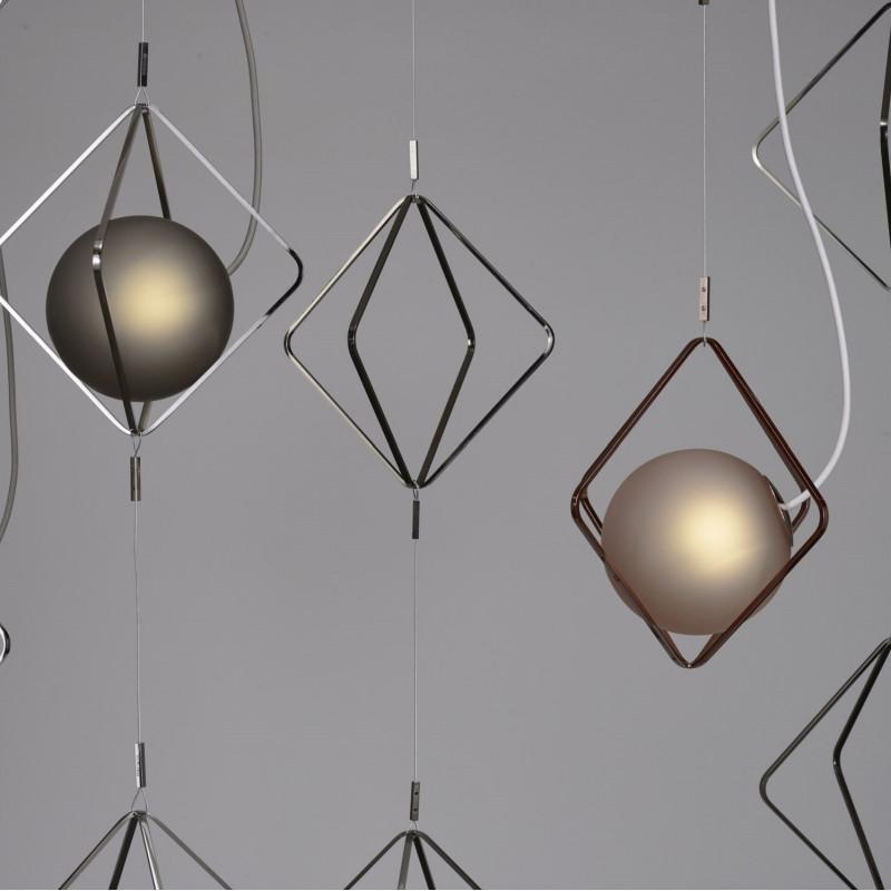 Pendant lamp JACK O´LANTERN SMALL SINGLE PENDENT SPHERE D150 H150