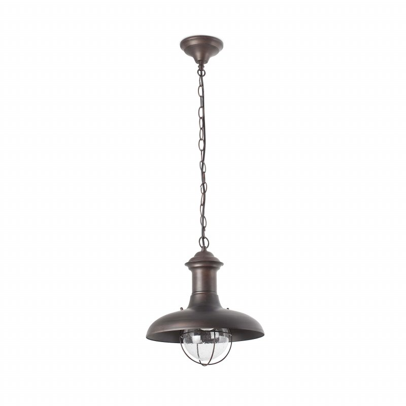 Pendant lamp ESTORIL Rust Brown