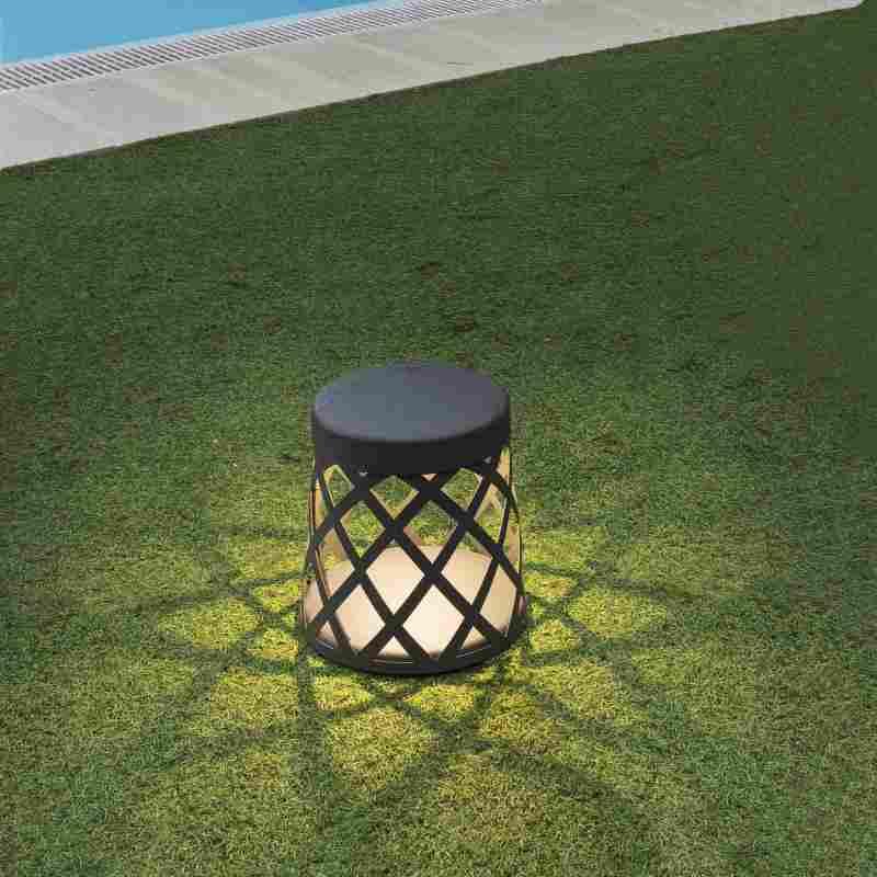 Garden lamp SHADOW Dark Grey