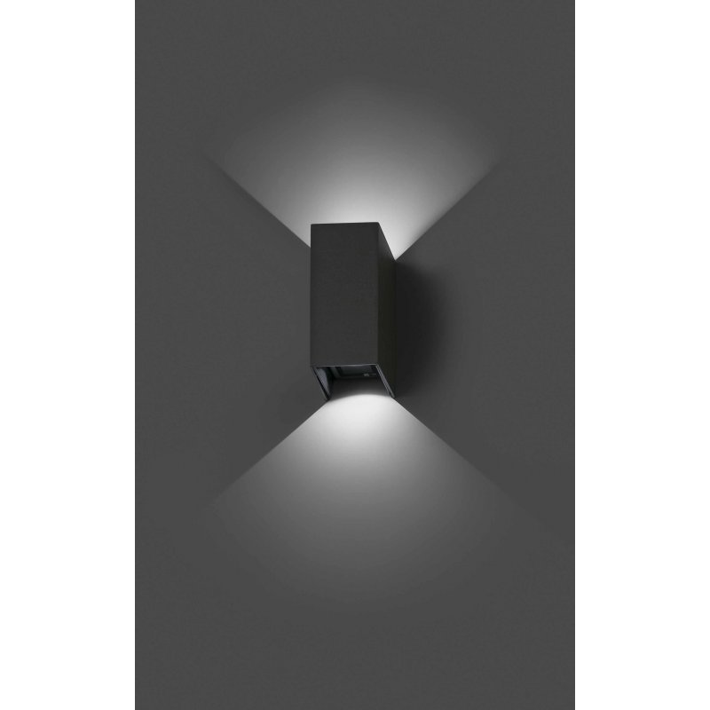 Wall lamp BLIND Dark Grey
