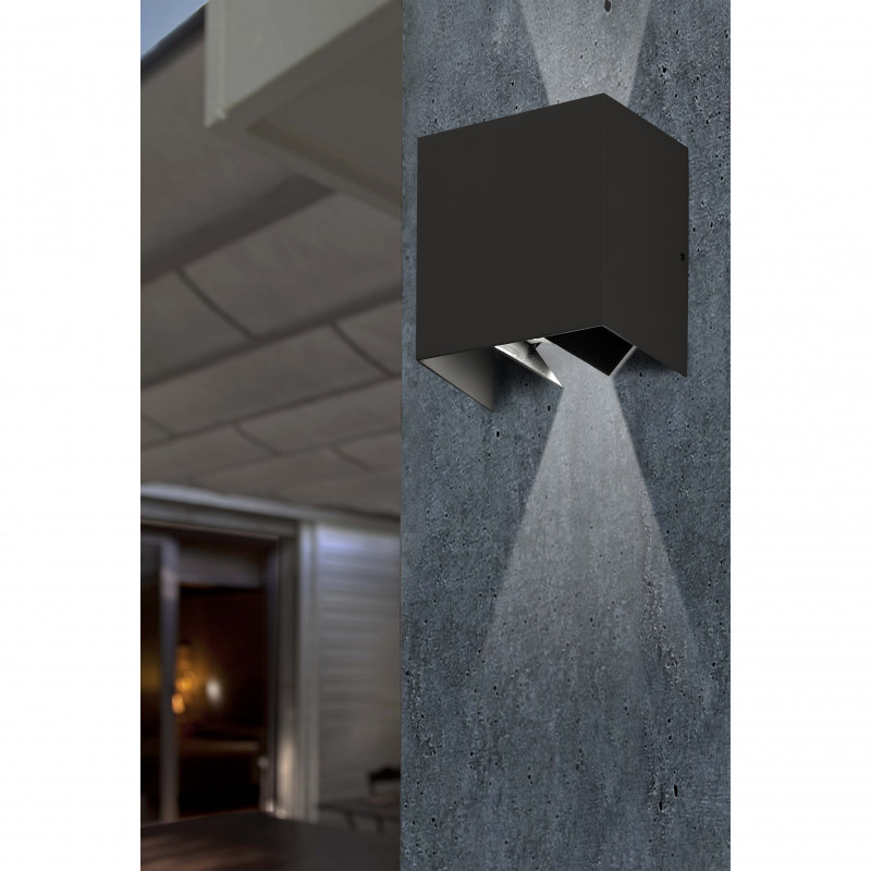 Wall lamp OLAN Dark Grey