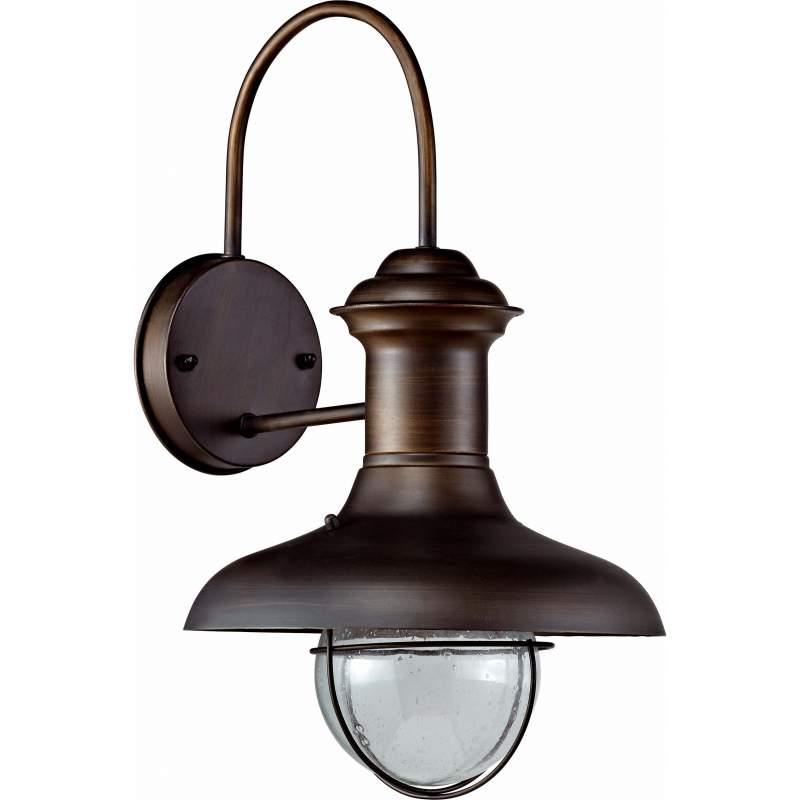 Wall lamp ESTORIL Rust Brown