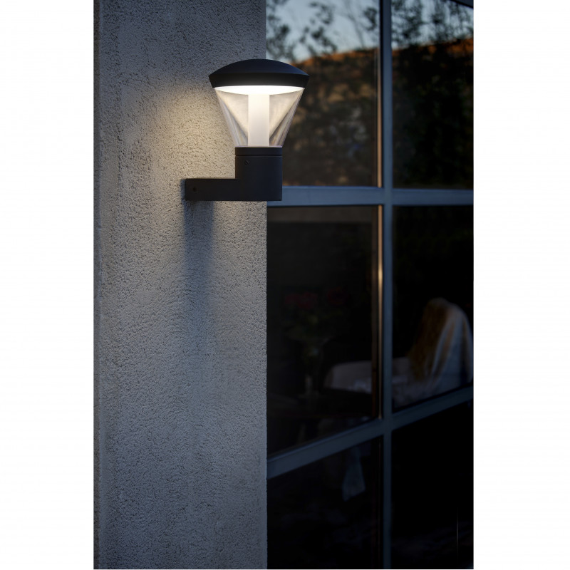 Wall lamp SHELBY Dark Grey