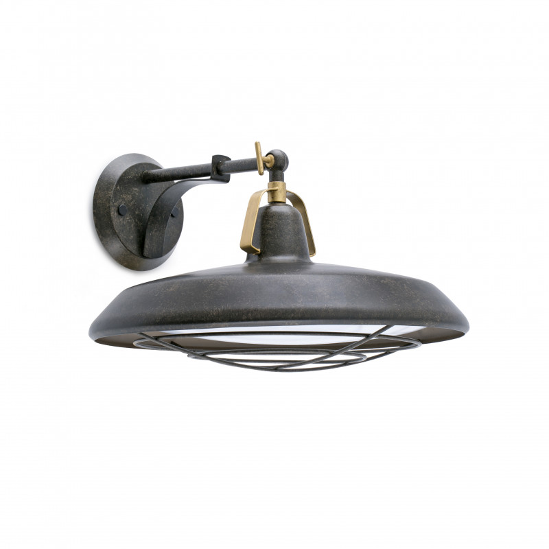 Wall lamp PLEC Old Brown