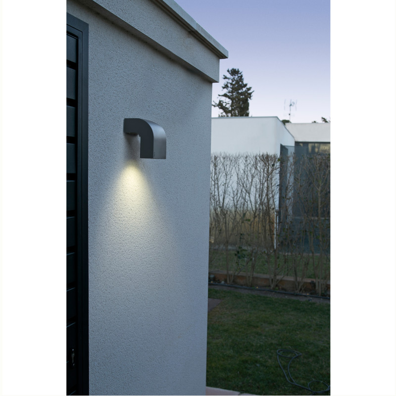 Wall lamp KLAMP Dark Grey