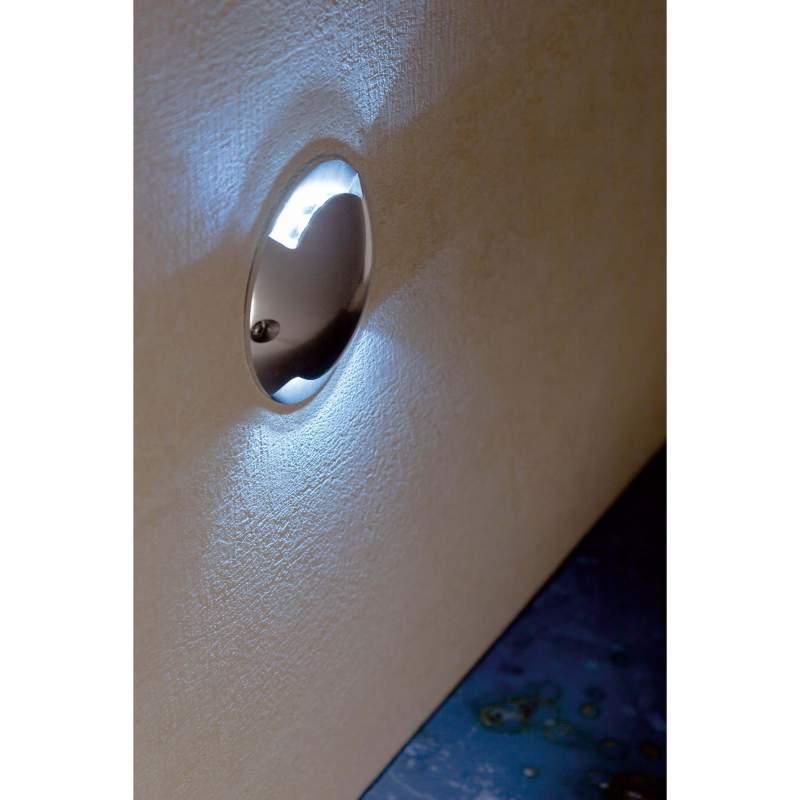 Wall lamp KEENAN Nickel