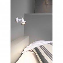 Wall lamp Ring White