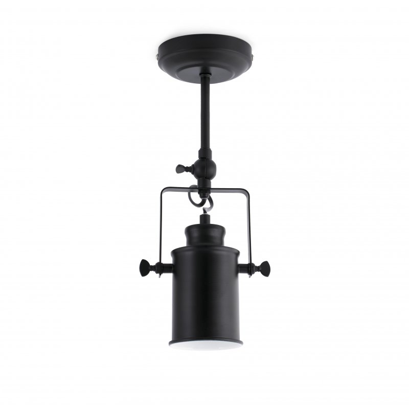 Ceiling-wall lamp LIST Black