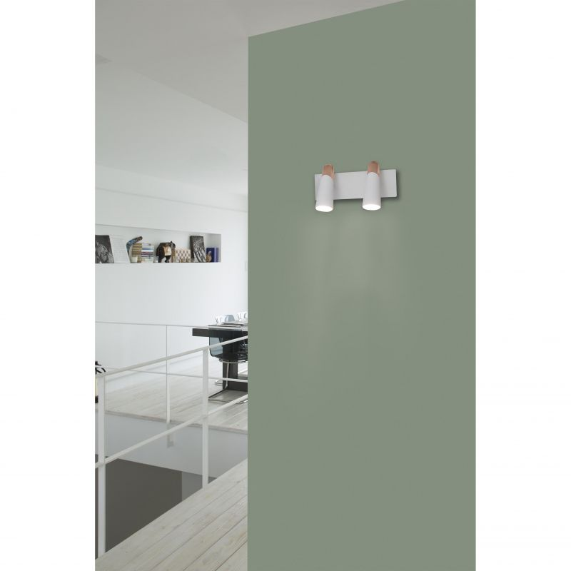 Wall lamp LAO LED Black 2L