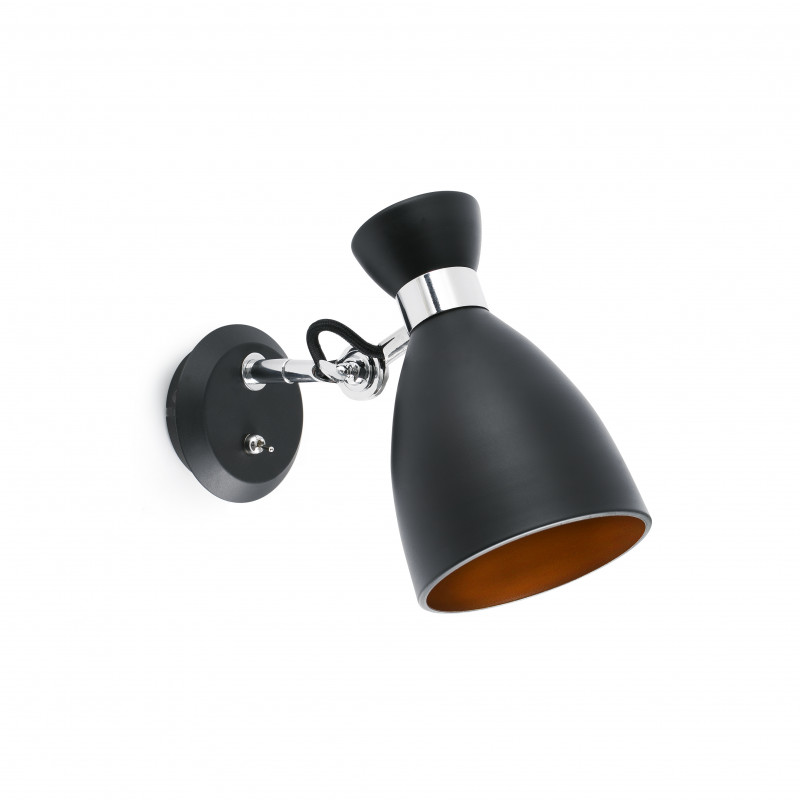 Wall lamp RETRO Black