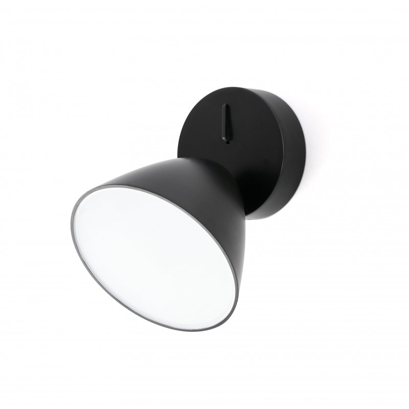 Wall lamp FLASH LED Black 1L