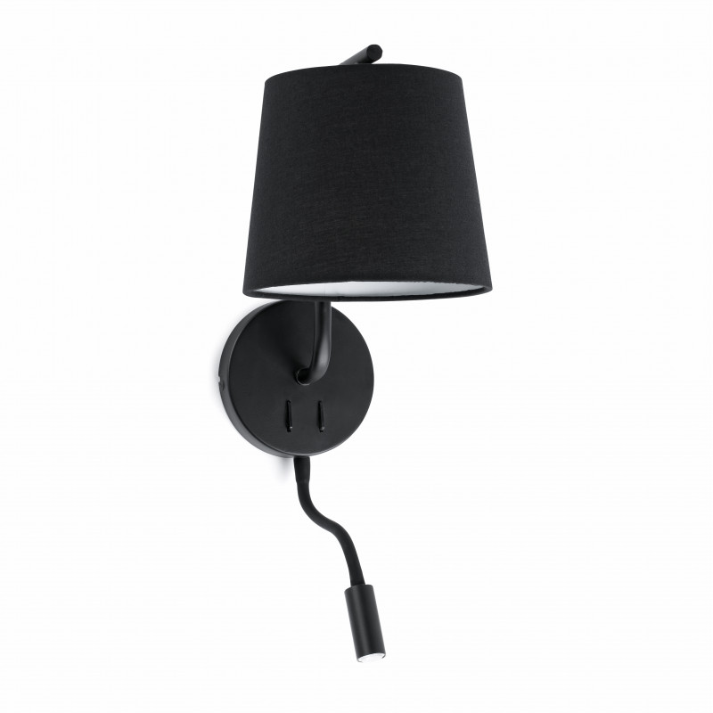 Wall lamp BERNI Black