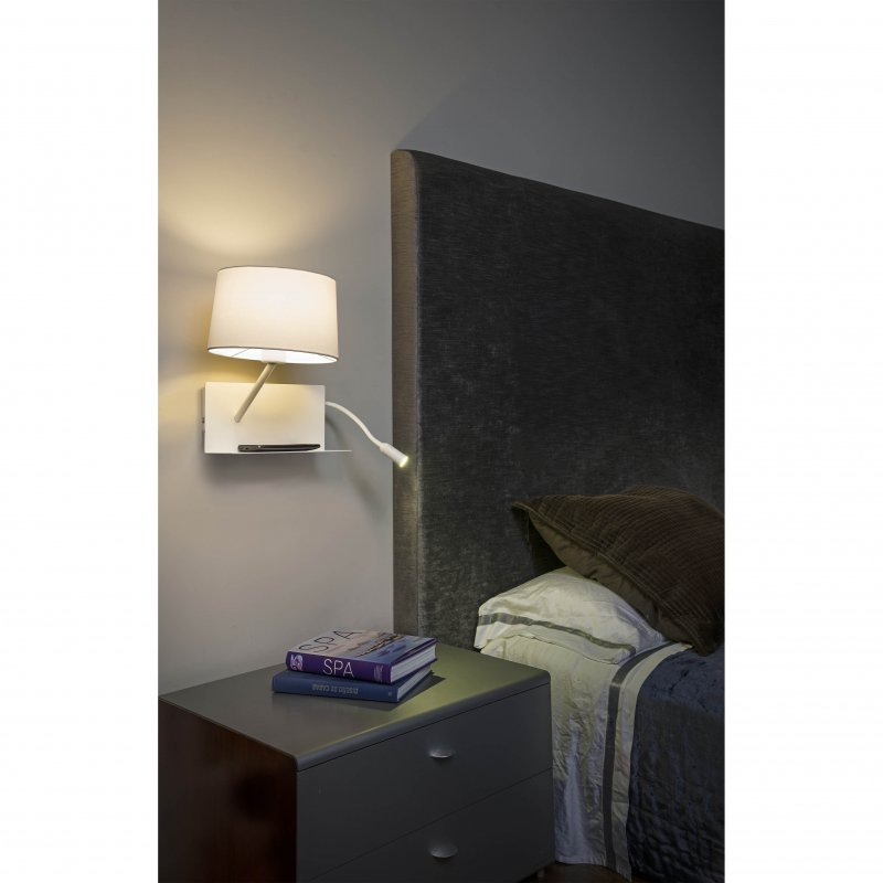 Wall lamp HANDY White