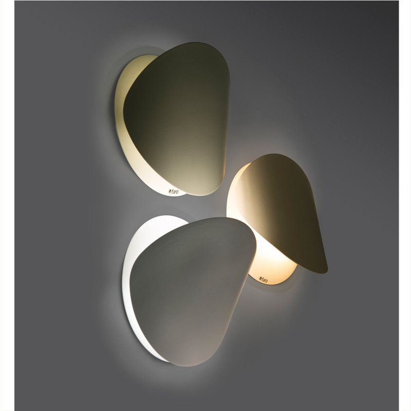 Wall lamp OVO-P White