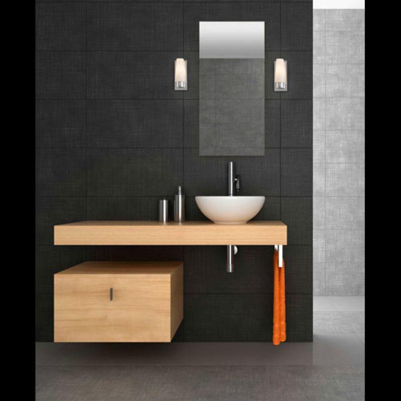 Wall lamp DOKA-1 Chrome