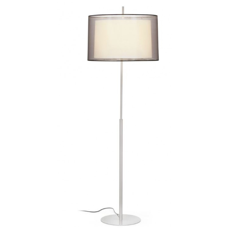 Floor lamp SABA Matt nickel