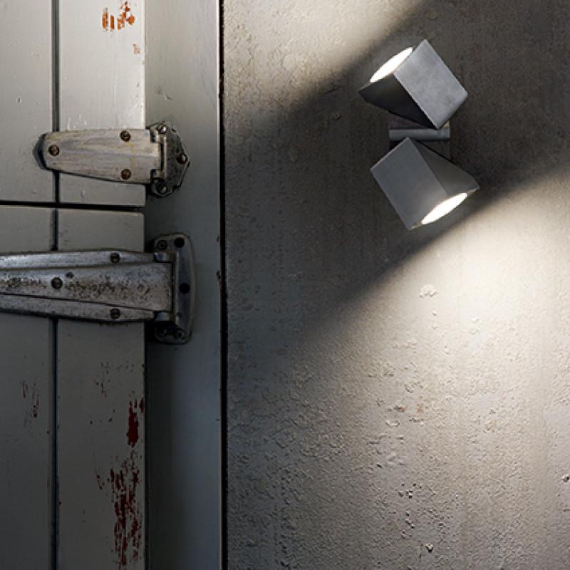 Ceiling-wall lamp ZEUS AP2 Aluminum