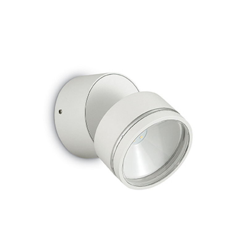 Ceiling-wall lamp OMEGA ROUND AP1 White
