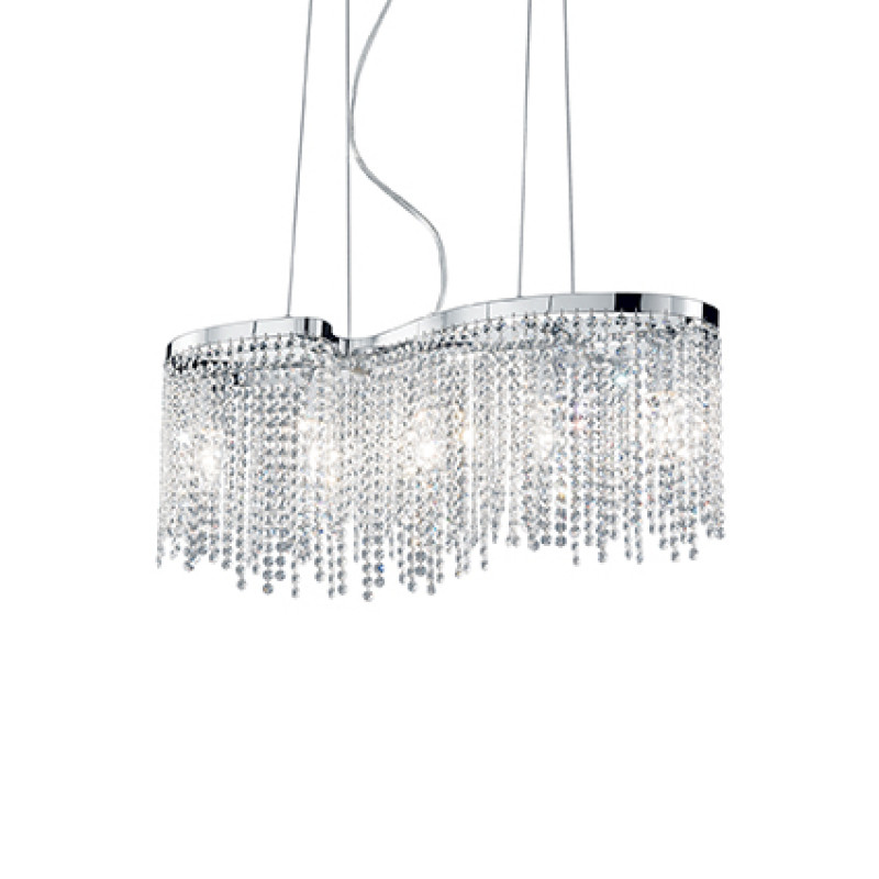 chandeliers AURORA SP5 Chrome