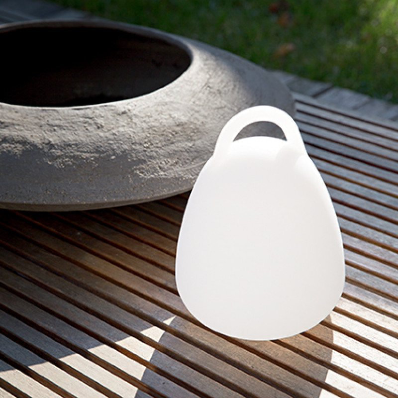 Garden lamp LIVE TL1 Campana White