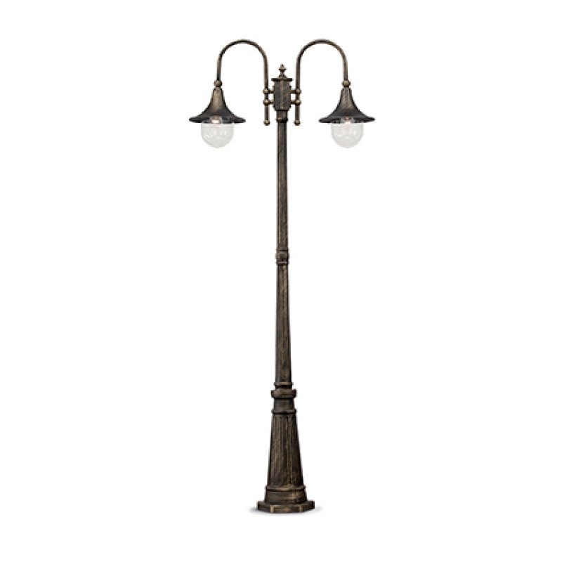 Floor lamp CIMA PT2 Black & Gold